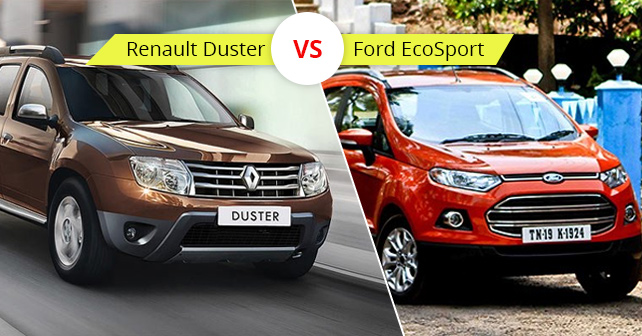 Ford EcoSport And Renault Duster
