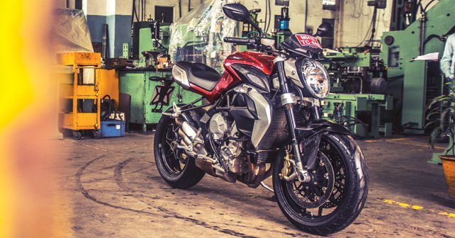 MV Agusta Brutale Review In India