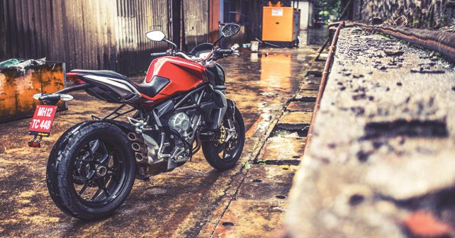 MV Agusta Brutale Side Review