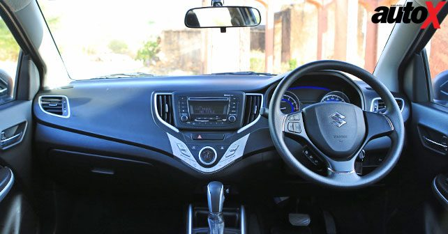maruti suzuki baleno automatic review first drive autox. Black Bedroom Furniture Sets. Home Design Ideas