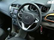 Tata Zica steering wheel