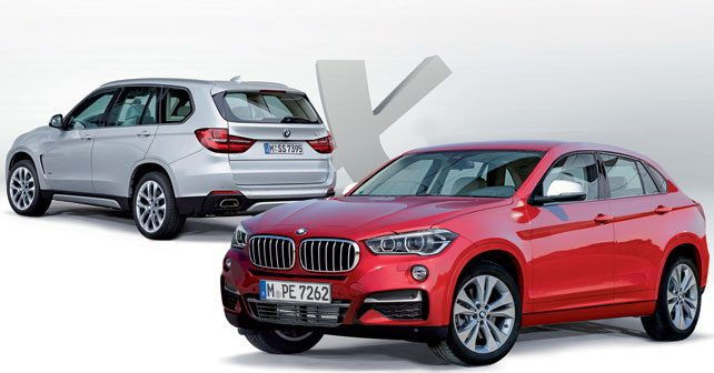 Upcoming range of BMW models