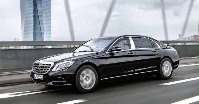 mercedes maybach s600 guard launch on march 8 2016 autox. Black Bedroom Furniture Sets. Home Design Ideas