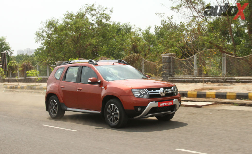 2016 renault duster facelift automatic photo gallery autox. Black Bedroom Furniture Sets. Home Design Ideas