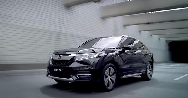 Honda Avancier Flagship Suv Unveiled In China Autox