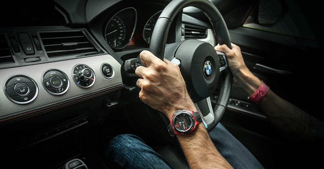 bmw z4 tissot t race track test