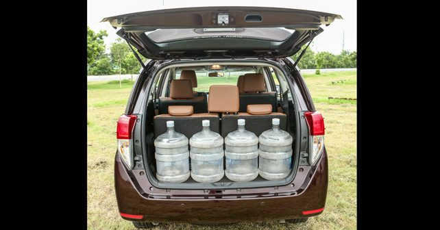 Space Luggage Toyota Innova Crysta Pictures to Pin on ...