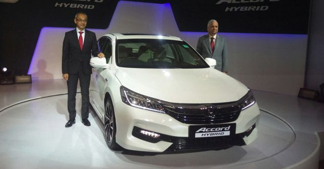 2016 honda accord hybrid launched at rs 37 lakh autox. Black Bedroom Furniture Sets. Home Design Ideas