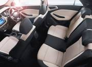 Hyundai Elite I20 Interior Pictures seats aerial view 053