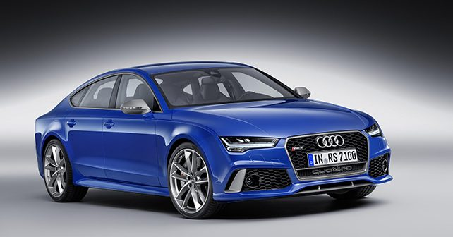 Audi RS7 Performance front three quarter