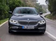 new bmw 5 series front action 2017