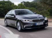 new bmw 5 series front three quarter 2017