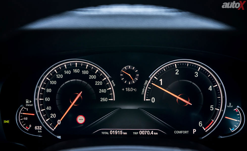 new bmw 5 series instrument cluster