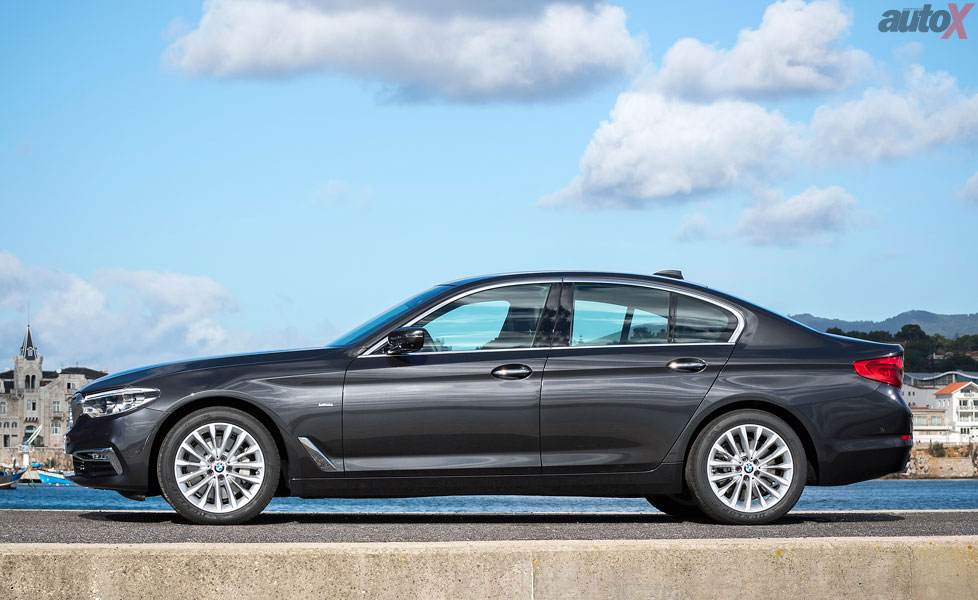 new bmw 5 series side profile 2017