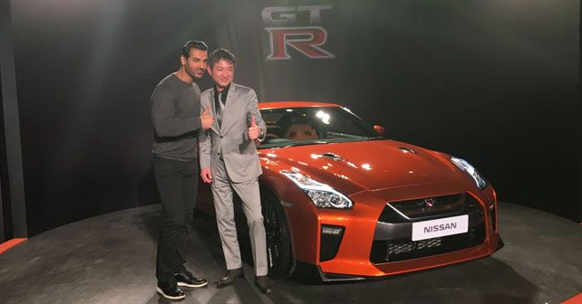 2017 nissan gt r launched in india autox. Black Bedroom Furniture Sets. Home Design Ideas