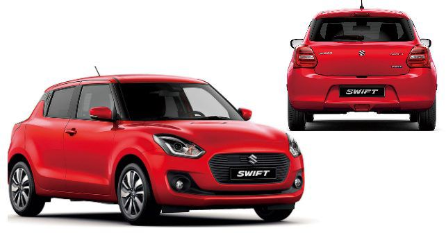 2017 geneva motor show new suzuki swift debuts autox. Black Bedroom Furniture Sets. Home Design Ideas