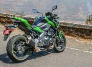 Kawaski Z900 rear three quarter gallery