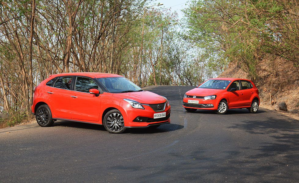 polo gt vs baleno rs photos pictures image gallery autox. Black Bedroom Furniture Sets. Home Design Ideas