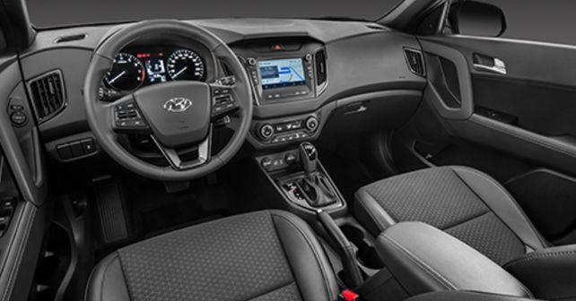 2017 Hyundai Creta Sport interior