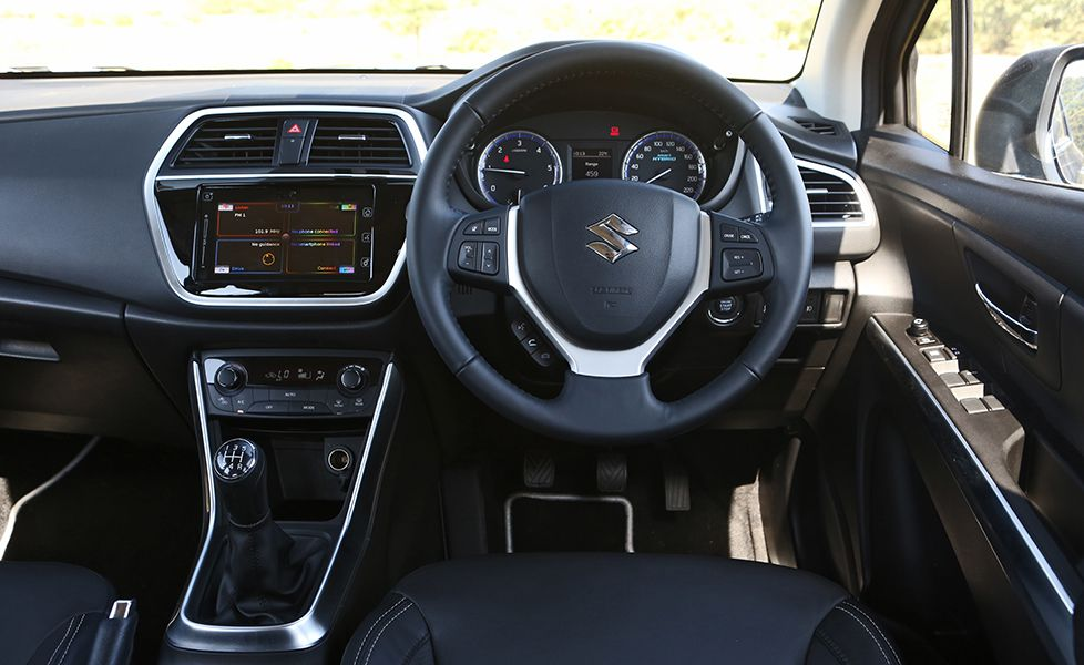 2017 Maruti Suzuki S Cross Steering Wheel1