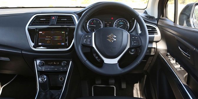 2017 Maruti Suzuki S-Cross SHVS Steering Wheel