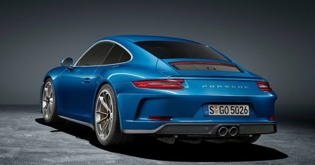 911 gt3 touring rear