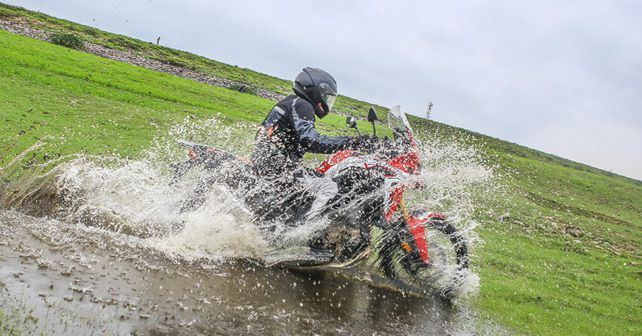 2017 Honda CRF1000L Africa Twin Review Motion Shot