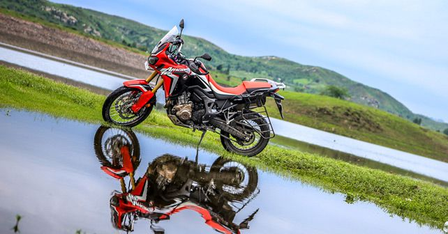 2017 Honda CRF1000L Africa Twin Review Stand View