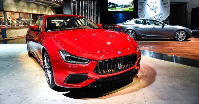 Maserati New Ghibli Frankfurt Motor Show 2017 m