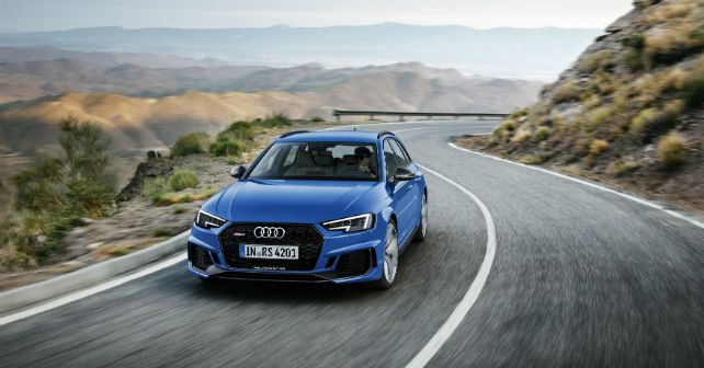 New (e)state of mind: Audi pulls covers of new RS4 Avant