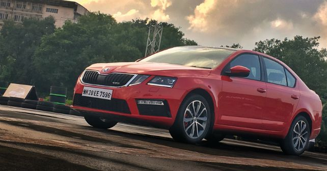 Skoda octavia rs static m