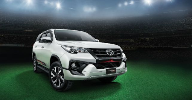 What Does Trd Stand For >> 2017 Toyota Fortuner TRD Sportivo launched - autoX