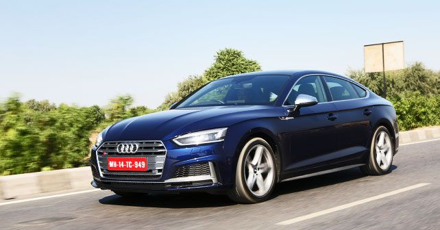 Audi S5 Sportback Front Three Quarter