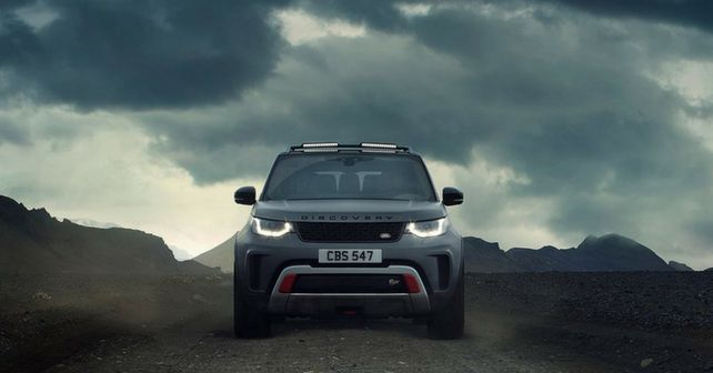 Land Rover Discovery SVX is a Serious Off-Roader