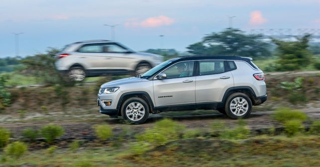 jeep compass action