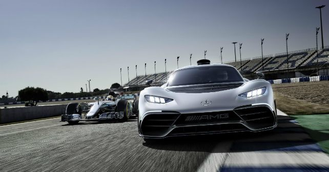 Mercedes-AMG Project One shows its caboose to the competition