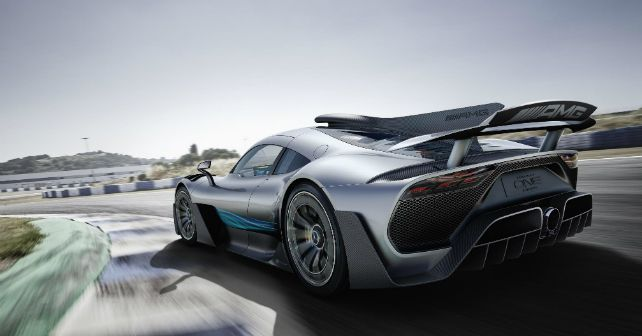 mercedes amg project one rear m