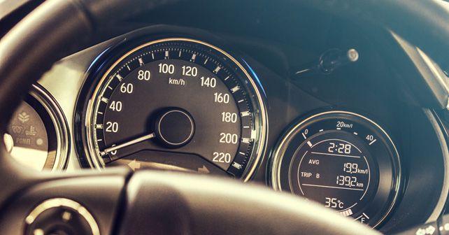 Honda City ZX i DTEC instrument cluster