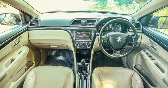 Maruti Suzuki Ciaz Alpha DDiS interior