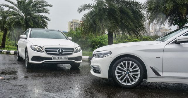 Mercedes Benz E Class vs BMW 5 Series2