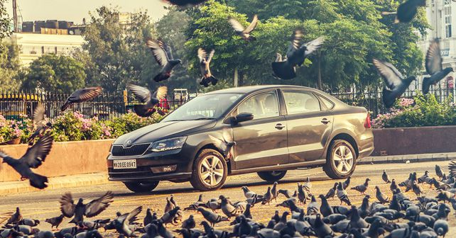 Skoda Rapid Style AT TDI front three quarter