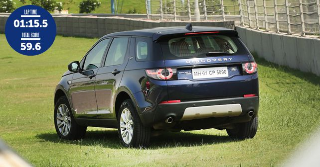 2017 land rover discovery sport track test autox. Black Bedroom Furniture Sets. Home Design Ideas