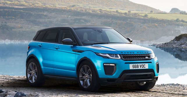 range rover evoque land mark edition launched autox. Black Bedroom Furniture Sets. Home Design Ideas