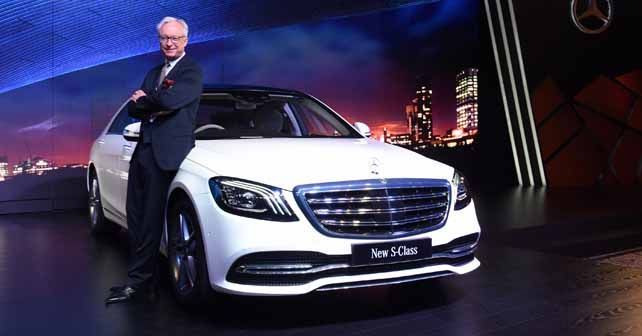 Mercedes-Benz S-Class facelift launched