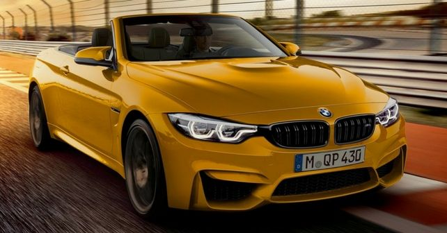 BMW M4 Convertible 30 Jahre special edition revealed