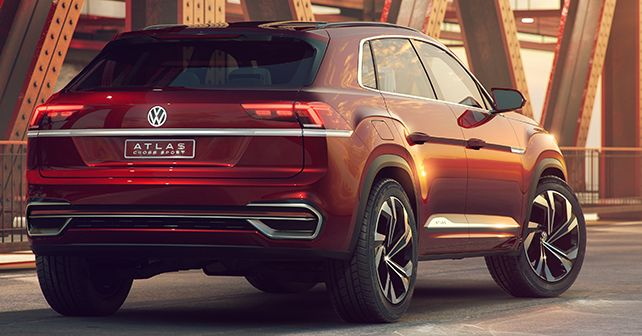 2019 Volkswagen Atlas Cross Sport Concept Rear