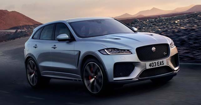 This is Jaguar's 542bhp F-Pace SVR