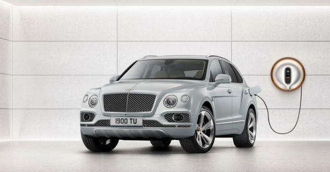 Bentley Bentayga Hybrid revealed at Geneva Motor Show