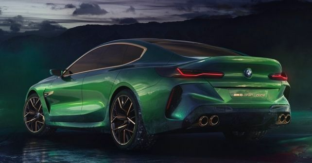 The future of BMW: the Concept M8 Gran Coupe
