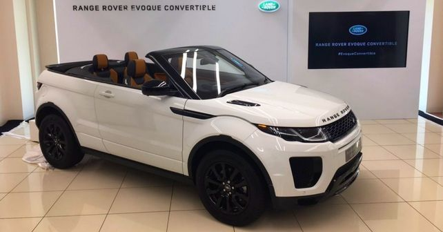 range rover evoque convertible launched autox. Black Bedroom Furniture Sets. Home Design Ideas